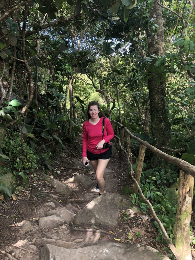 Charli K Matthews in St Lucia